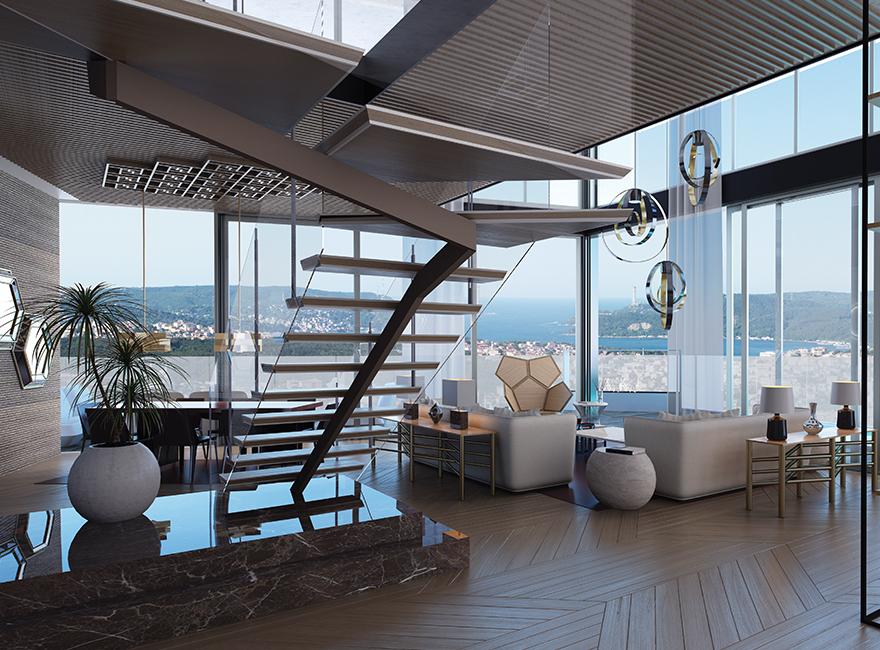 Istanbul Penthouse Maslak Penthouse