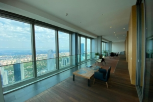 Sapphire Tower Penthouse Istanbul View